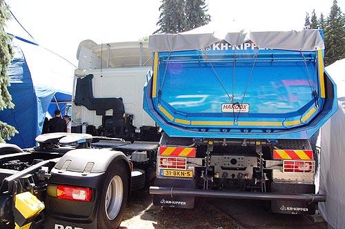 DAF вывел на украинский рынок новую спецверсию тягача CF - DAF