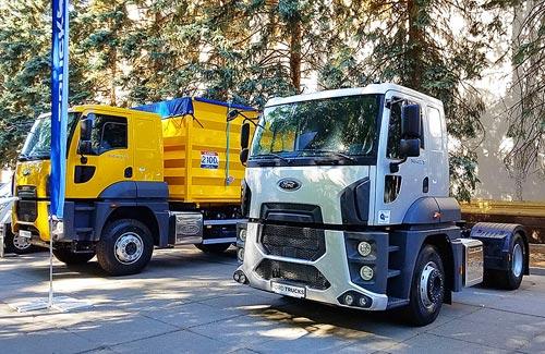 Владельцы Ford Trucks в Украине будут знать все о работе своей техники - Ford Truck