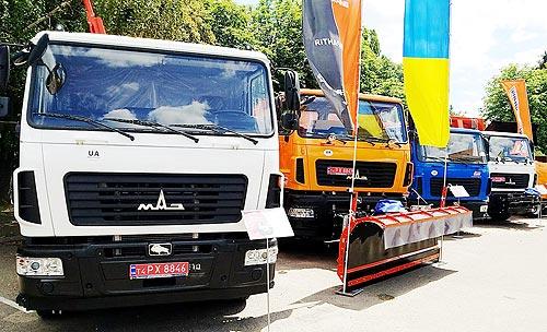 МАЗ вернул себе лидерство на украинском рынке грузовиков в июле