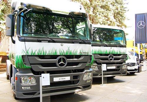 Mercedes-Benz предложил аграриям тягач по революционной цене - Mercedes-Benz