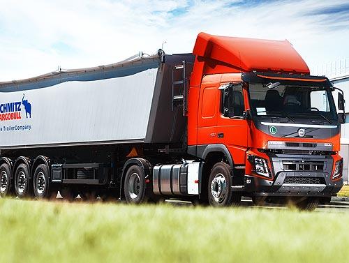 Volvo Trucks представляет в Украине новый аграрный тягач - Volvo