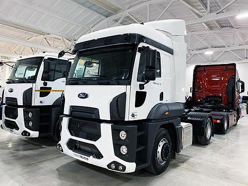Ford Trucks представил новый тягач в Кропивницком - Ford Trucks