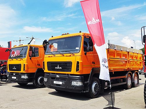 МАЗ в июне вернул себе лидерство на украинском рынке