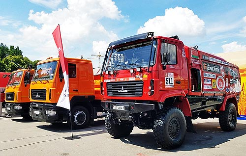 МАЗ намерен занять 20% украинского рынка в 2019 году