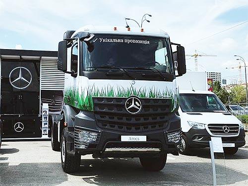 Mercedes-Benz представляет новые решения для аграрного бизнеса