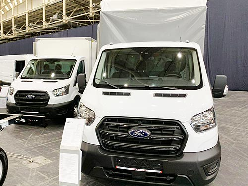 Ford вывел на рынок Украины Transit 4x4 и шасси для автовышек
