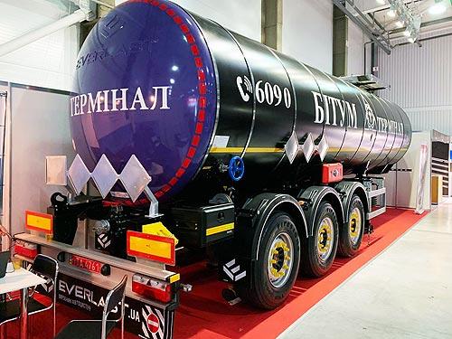 В Украине представили обновленные битумовозы Everlast