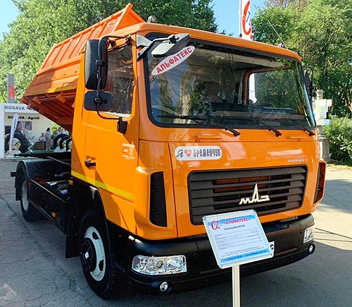 В Украине представили доступные модели грузовиков для аграриев - аграр