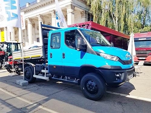В Украину поставили уникальный самосвал Iveco Daily 4x4 - IVECO