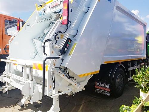 На украинский рынок вышел новый турецкий производитель мусоровозов - МАЗ