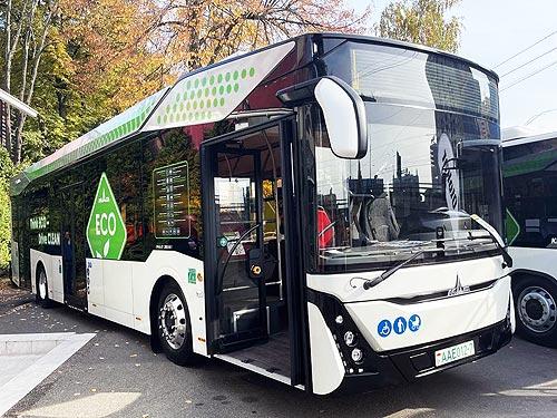 На каких автобусах будут ездить в городах Украины. Обзор выставки City Trans 2021 - автобус