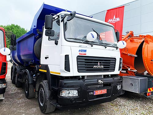 Украинский рынок грузовиков в мае вырос сразу на 69%