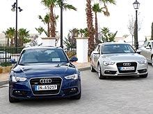 Тест-драйв обновленных Audi A5: Красавица и «Чудовище»