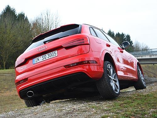 Тест-драйв обновленного Audi Q3: практичный премиум-класс