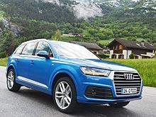 Тест-драйв Audi Q7 New: кино 7D со спецэффектами