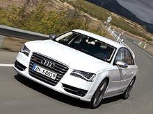 Тест-драйв самого мощного и быстрого лимузина Audi S8: Спорт в деловом костюме
