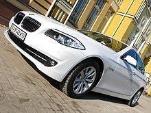 Тест-драйв BMW 5-й серии: Когда хорошим водителем быть легко