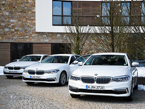 Чем покоряет новая BMW 5-й серии? На разных «полюсах» спорта и экологии