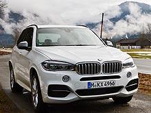Тест-драйв New BMW X5: покушение на законы физики