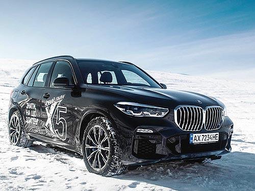 Тест-драйв нового BMW X5: Шаг вперед