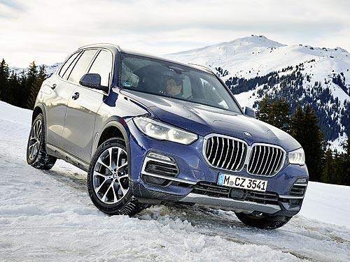 Дыши полной грудью. Тест-драйв BMW X5