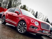 Тест-драйв Bentley Bentayga: Чемпион по роскоши