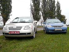 Тест-драйв: Chery Elara vs Chevrolet Lacetti