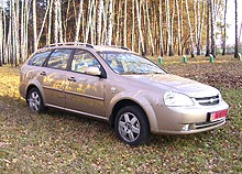 Тест-драйв: Chevrolet Lacetti Wagon – богатый автомобиль для среднего класса