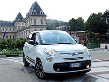 Тест-драйв FIAT 500L: В одну реку дважды