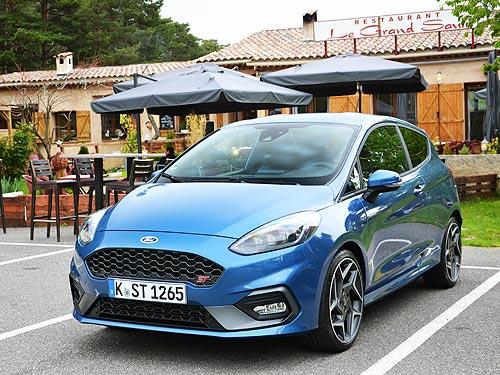 АГонь! Тест-драйв нового Ford Fiesta ST - Ford
