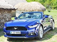 Тест-драйв Ford Mustang New. Американский ковбой на европейских дорогах
