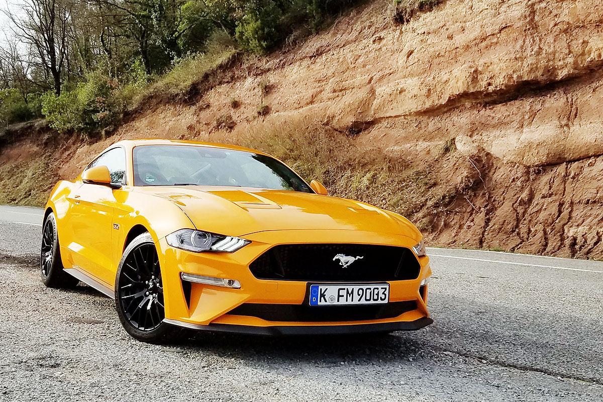 Ford Mustang может получить может получить электрическую версию