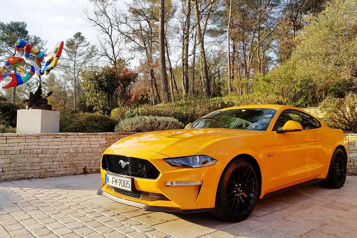 Ford Mustang стал самым популярным спорткаром в мире третий год подряд - Mustang
