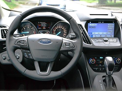 Тест-драйв Ford Kuga: искусство простых вещей - Ford