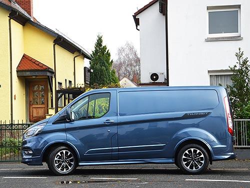 Тест-драйв Ford Transit Custom. Новый стандарт в коммерческих фургонах - Ford
