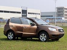 Первое знакомство с кроссовером Geely GX7: «Тойота» за недорого