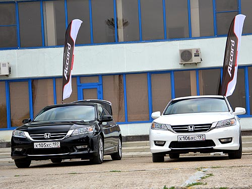 Тест-драйв нового Honda Accord: классом выше