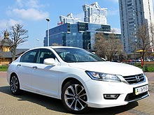 Тест-драйв Honda Accord: Нотная грамота