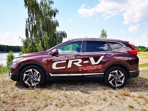 Чистокровный японец. Тест-драйв обновленной Honda CR-V - Honda