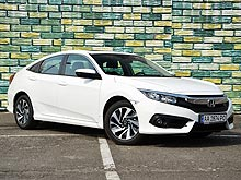 Тест-драйв Honda Civic New. Маленький Cross Tour и уже почти Accord