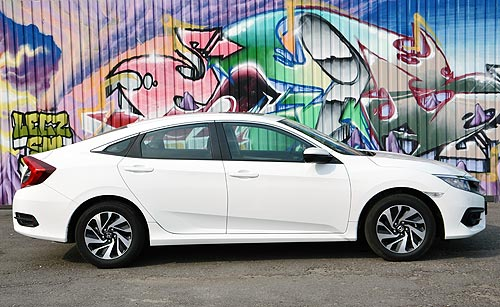 Тест-драйв Honda Civic New. Маленький Cross Tour и уже почти Accord - Honda