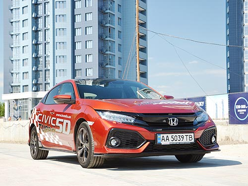 Тест-драйв Honda Civic Sport Plus. Возвращение к истокам