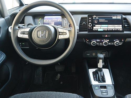 Маленький практичный японец. Тест-драйв Honda Jazz E:HEV - Honda