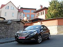 Тест-драйв Hyundai Sonata: Welcome to bussines-class! - Hyundai