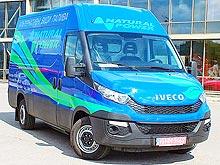 Тест-драйв IVECO Daily CNG: А у нас в фургоне газ, а у Вас?