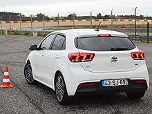 Тест-драйв Kia Rio New на лиссабонской брусчатке - Kia
