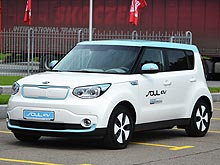 Первое знакомство в Украине с электрическим KIA Soul EV
