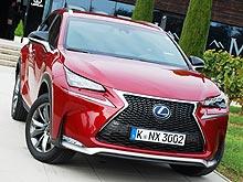 Тест-драйв Lexus NX 300h: Метаморфозы имиджа