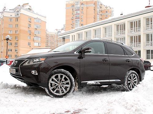 Тест-драйв Lexus RX 450H: Испытываем гибрид в морозы