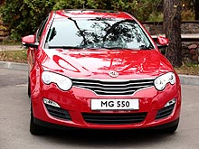 Длительный тест MG 550: Британский эмигрант. Часть 1